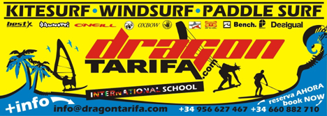 Dragon Kitesurf School Windsurf and Paddel Surf Tarifa